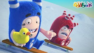 Oddbods | Whimsical Winter | NEW | Funny Cartoons For Children