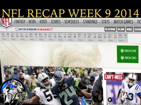 NFL Recap Week 9 - Peyton Manning Wil Forever Remain Brady/Belichick