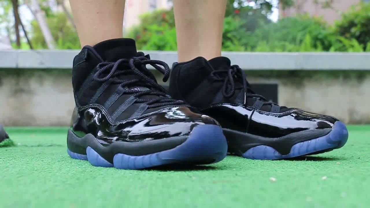 "b8c9d3c10e0c0e Air Jordan 11 ""Cap   Gown"" On Foot HD Review - YouTube"