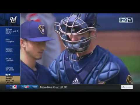Brewers Banter: 'Catching up' with Jett Bandy and Manny Pina