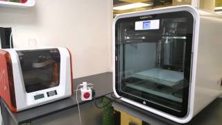 Installing Cube Pro Trio 3D Printer at DigiLab Barking