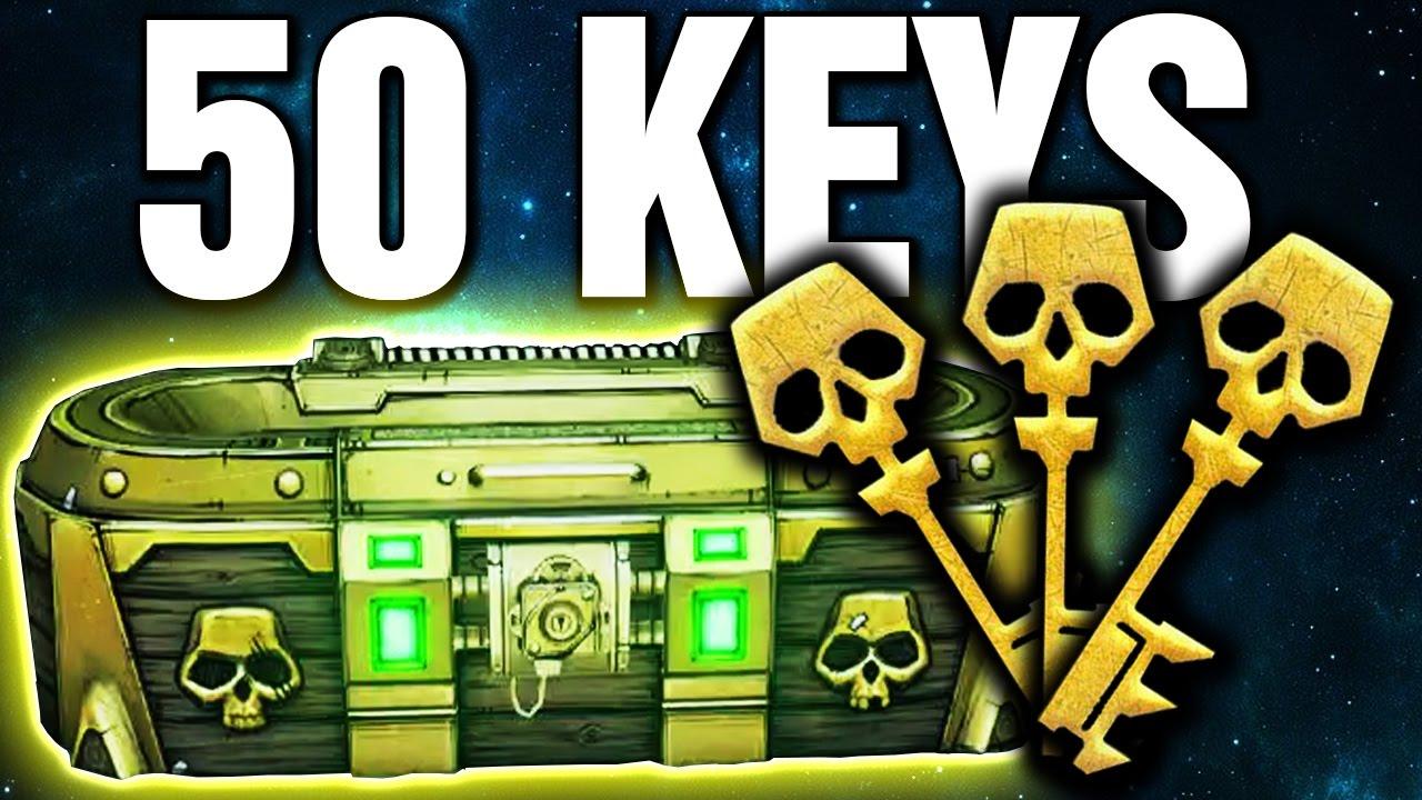 how to get skeleton keys borderlands 2