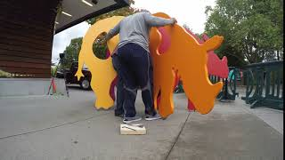 Artist Edward Key: Time Lapse Art Installation at Woodland Park Zoo