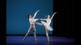 Flames of Paris pas de deux: Julia Conway and Rentaro Nakaaki | English National Ballet