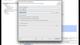 Eclipse Java : générer un jar exécutable (french français)