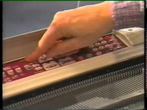 Brother machine knitting tutorial