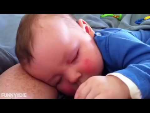 Cute Baby Laughs in His Sleep# funny baby videos 2018
