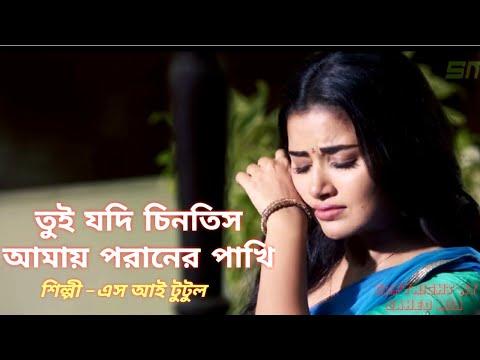 তুই যদি চিনতি আমায় পরানের পাখী_Tui Jodi Chinti Amay Poraner Pakhi_Bangla Sad Song.