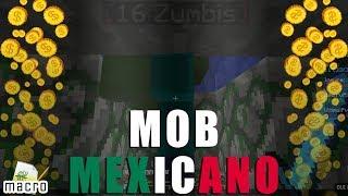 [Macro Craftlandia] Mob Mexicano - mata mobs, repara/troca e vende