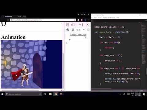 LearnHow: Create simple animation with JavaScript