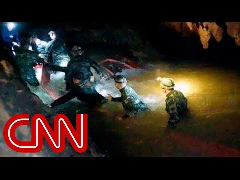 Soccer team found alive in Thailand cave