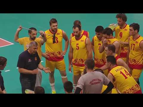 CEV European League Men 2017 Albania - Macedonia