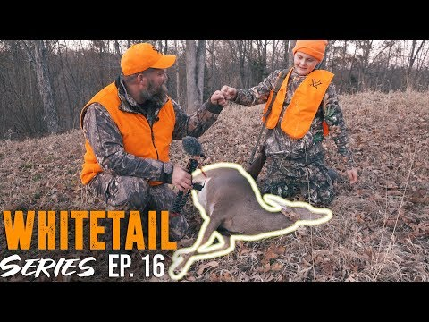 HIS FIRST DEER EVER! FATHER AND SON HUNTING.