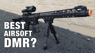 A 5-STAR DMR! G&G TR16 MBR 308WH Overview - Airsoft Station Product Review