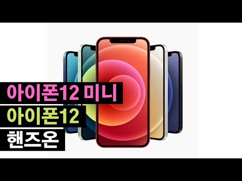 아이폰12 vs 아이폰8, 8+, X, XR, XS MAX, 11, SE : 사이즈 비교 !!