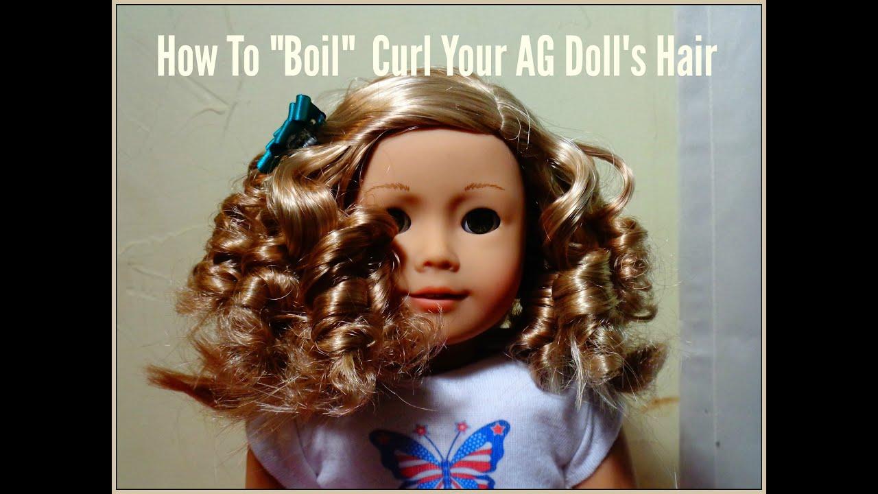 """""""boil"""" curl ag doll's"""