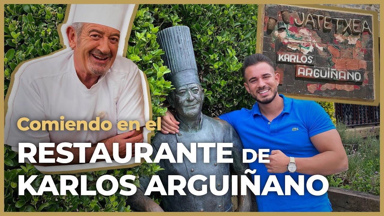¡Visito RESTAURANTE KARLOS ARGUIÑANO y me como 6 PLATOS! 🤰