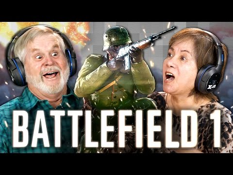 Thumbnail: ELDERS PLAY BATTLEFIELD 1 (Elders React: Gaming)