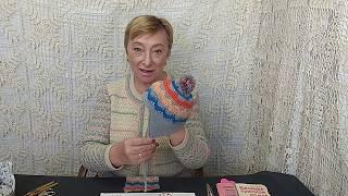 Вязание крючком для детей от О.С.Литвиной. Шапочка с ушками