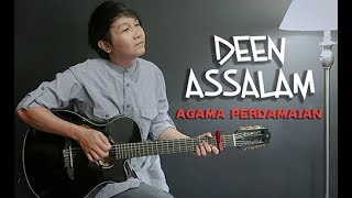Video Deen Assalam (Agama Perdamaian) Nathan Fingerstyle | Guitar Cover | Guidrum download MP3, 3GP, MP4, WEBM, AVI, FLV Agustus 2018