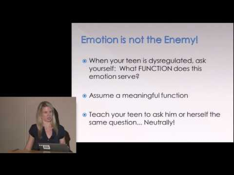 Beyond Adolescent Angst  Helping Teens Manage Anxiety and Intense Emotions
