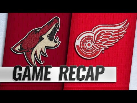 Red Wings put on offensive exhibition in 6-1 win