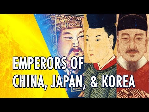 Differences of Ancient Chinese, Japanese, and Korean Emperors