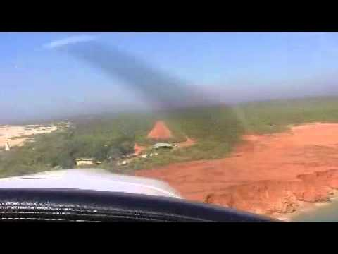 Piper Lance Landing at YCLQ Cape Leveque