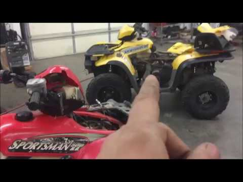 Polaris 500 no spark or one spark solution - YouTube