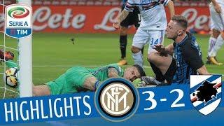 Inter - Sampdoria 3-2 - Highlights - Giornata 10 - Serie A TIM 2017/18 streaming