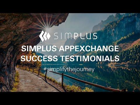 Simplus App Exchange Success Testimonials