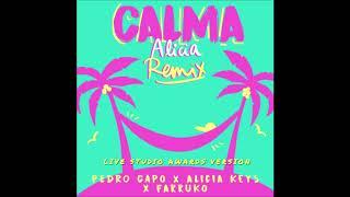 Pedro Capo, Alicia Keys - Calma (Live Studio Awards Version) (Audio) Feat. Farruko