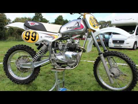 Triumph and Maico Twinshock Dirt Bike