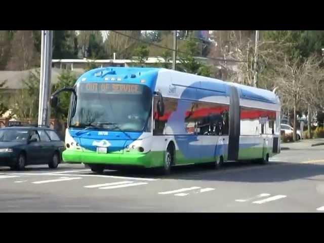 Buses in Seattle, WA (Volume Five)