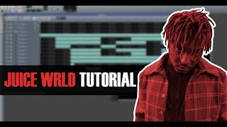 How To Make A JUICE WRLD Type Beat in LMMS