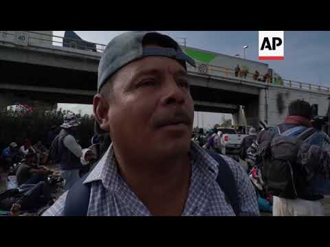 Migrant caravan moving to western Mexico city of Guadalajara
