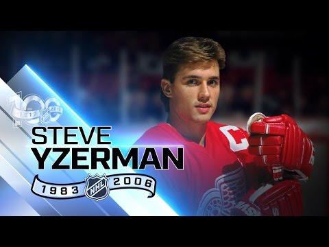 Steve Yzerman was Detroit's captain for 19 seasons