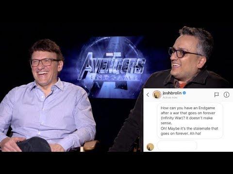Avengers Endgame's Iron Man-Captain America trailer scene isn't in the movie, says director Joe Rus...
