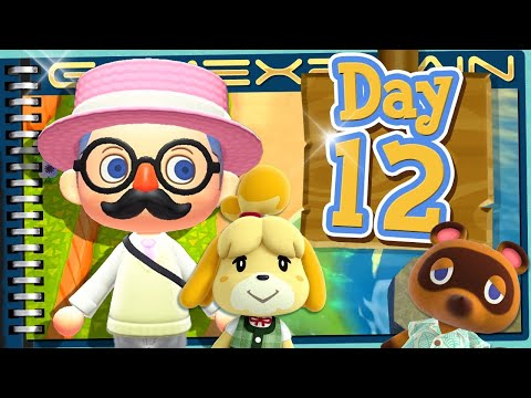 Animal Crossing: New Horizons - Day 12: New Villager! + New Home Planning! (Journal)