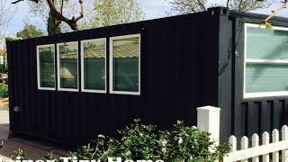 Modern Nevada Tiny Container Home