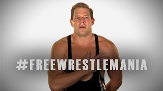 "Jack Swagger and ""We the People"" want #FreeWrestleMania"