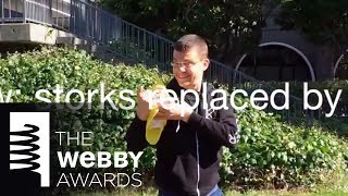 Glow's 5-Word Speech at the 18th Annual Webby Awards