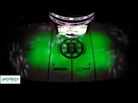 Port Lighting Systems Installation At Boston's TD Garden