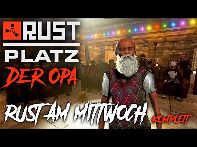 RUSTplatz [S2] #33 👴🏻 Rust am Mittwoch [Komplett] 💥 Roleplay Projekt [Deutsch]