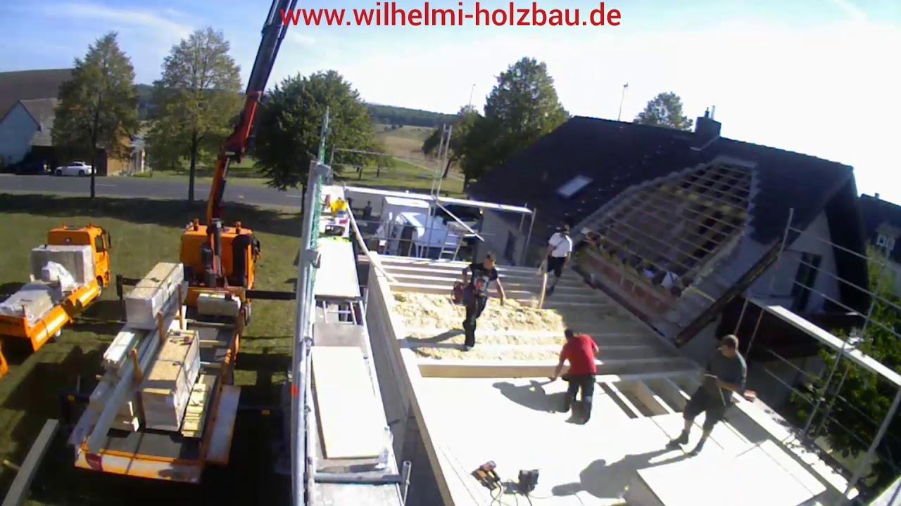 Aufstockung einer Garage / Holzbau / Holzrahmenbau
