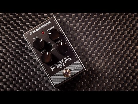 TC Electronic FANGS (metal distortion) - review with different amps