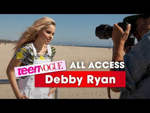 Debby Ryan Wants YOU to Attend the Teen Vogue Back-to-School Saturday Event on August 8