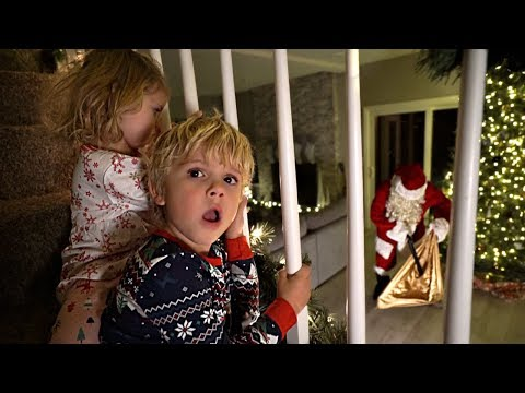 We CAUGHT Santa Claus STEALING From Us!!