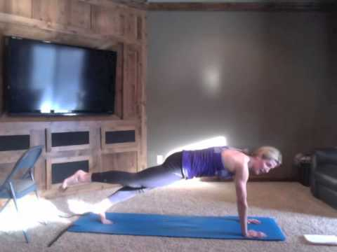 "38 Min Barre Pilates Workout Created by ""Pilatesbody by Erin"""
