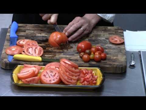 Knife Skills Series: Cutting Tomatoes